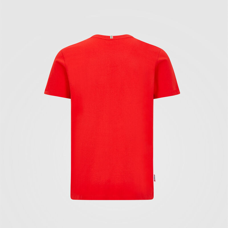 SF FW MENS SMALL SHIELD TEE - red