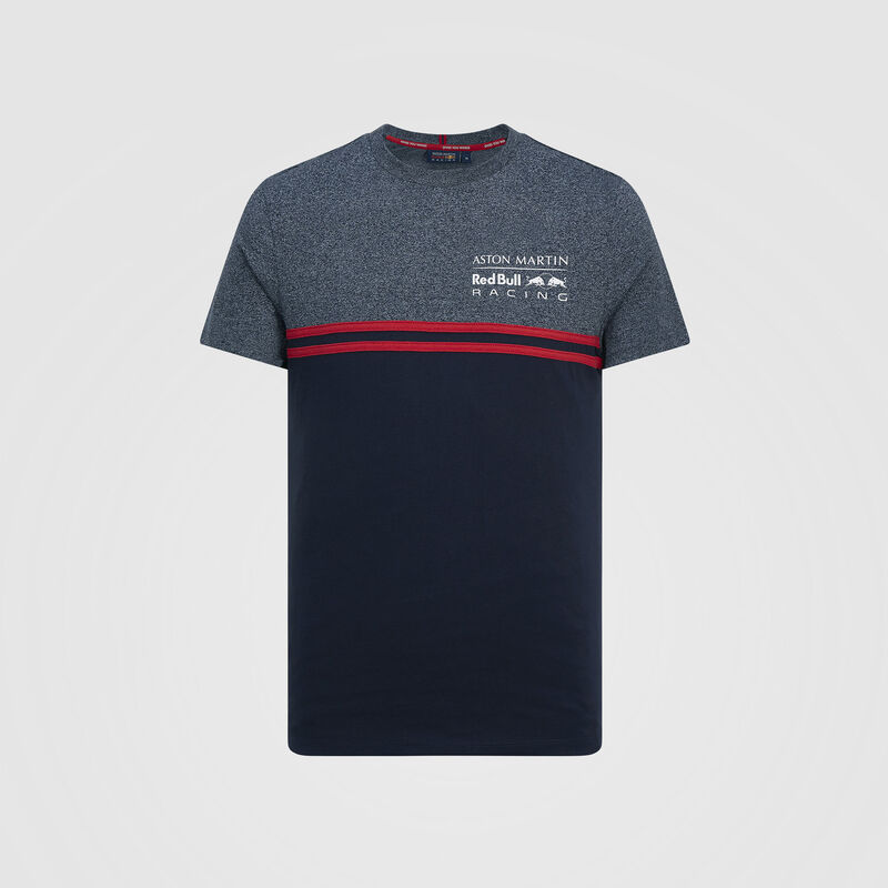 AMRBR FW MENS INJECTION  TEE - navy