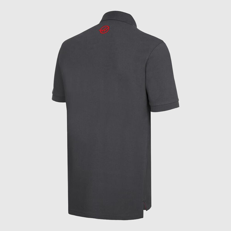 HAAS FAN POLO - grey
