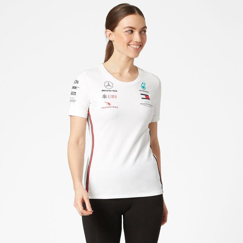 MAPM RP WOMENS DRIVER TEE - white