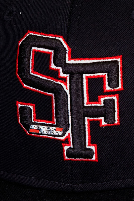 SF FW FB SCUDERIA FERRARI CAP - black