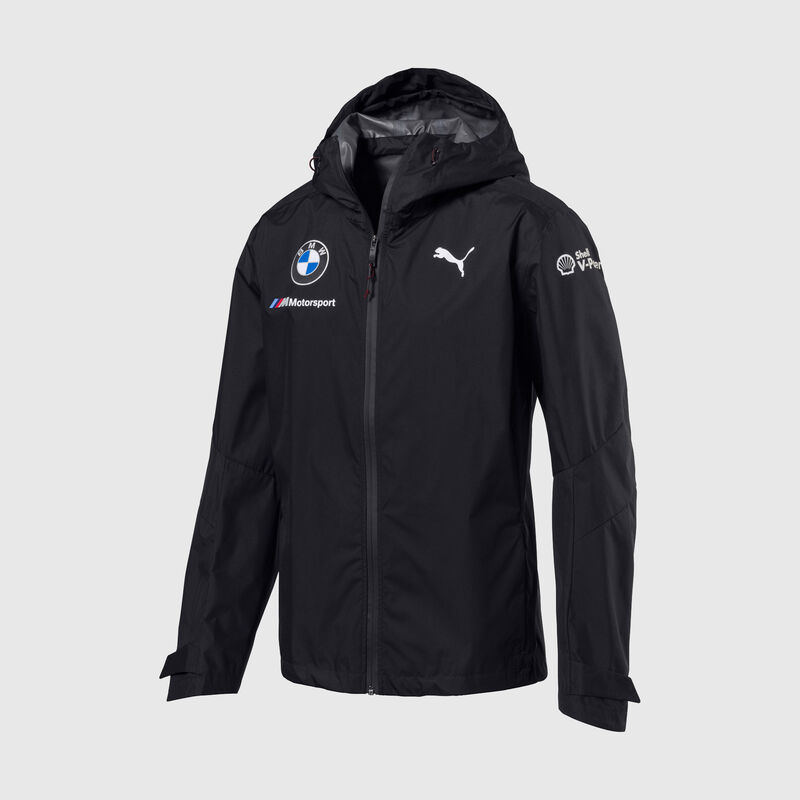 BMW RP MENS RAIN JACKET - grey