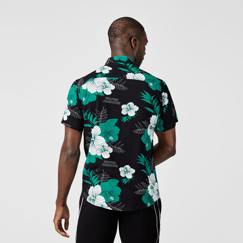 MAPF1 FW MENS HAWAIIAN MENS SHIRT - Multicolor