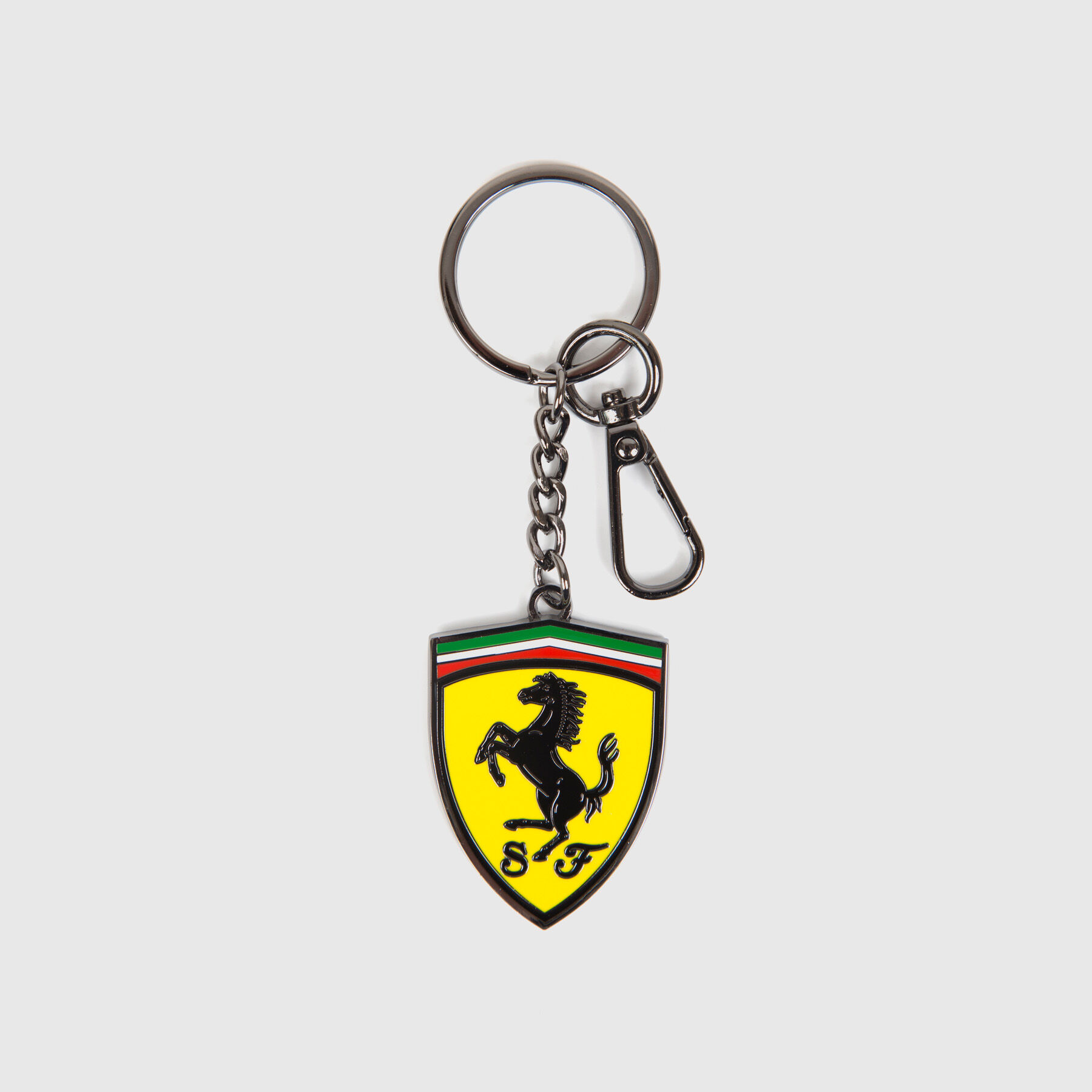 Silver Hooshion Alloy Keychain Metal Keyring Stainless Steel Key Chain for Car Keys for Women and Men Gifts Keychain