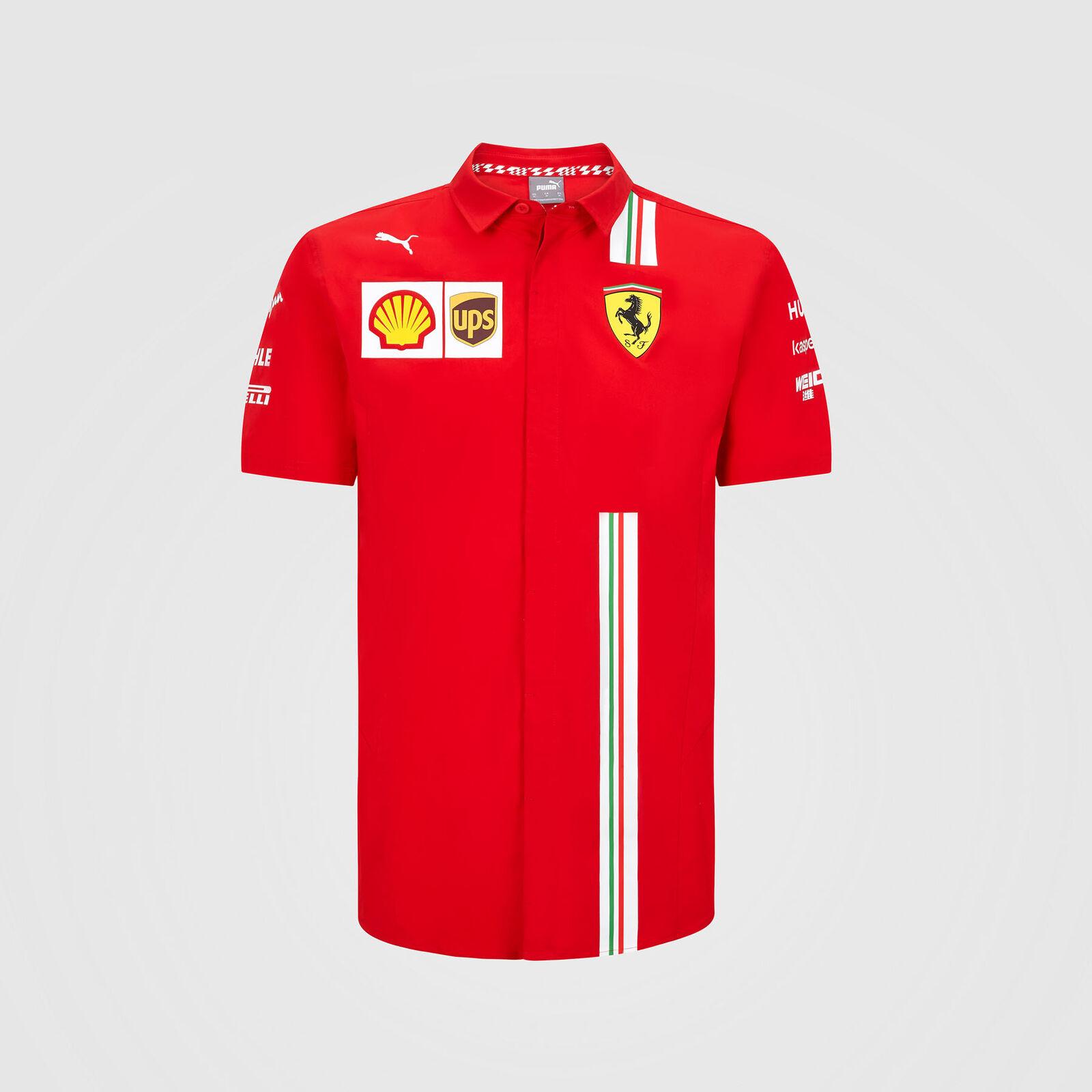 20 21 Team Shirt Scuderia Ferrari Formula 1 Fuel For Fans