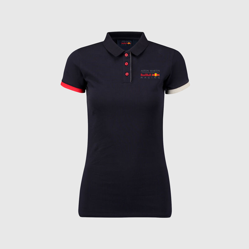 RBR FW WOMENS CLASSIC POLO  - navy