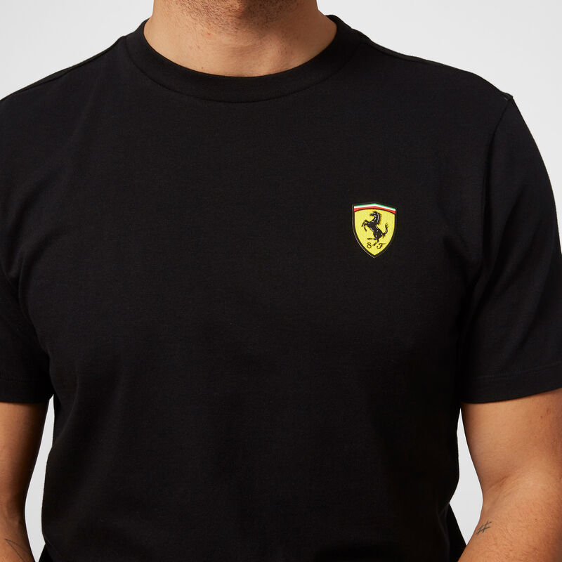 SF FW MENS SMALL SHIELD TEE - black