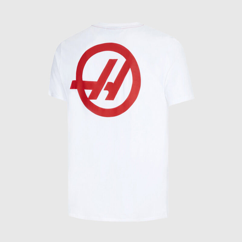 HAAS F1 FW MENS POCKET TEE - white