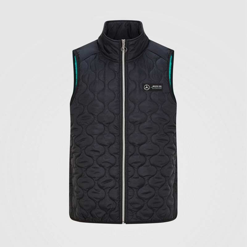 MAPM FW MENS PADDED GILET - black