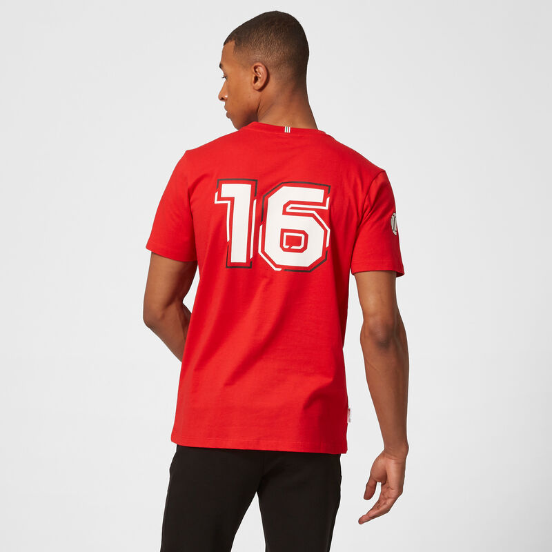 SF FW MENS LECLERC DRIVER TEE - red