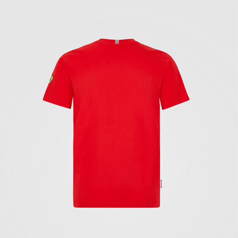 SF FW KIDS VETTEL DRIVER TEE - red