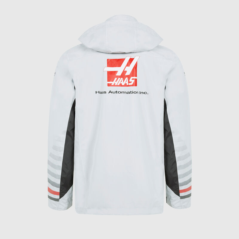 HAAS F1 RP MENS TEAM RAINJACKET  - grey