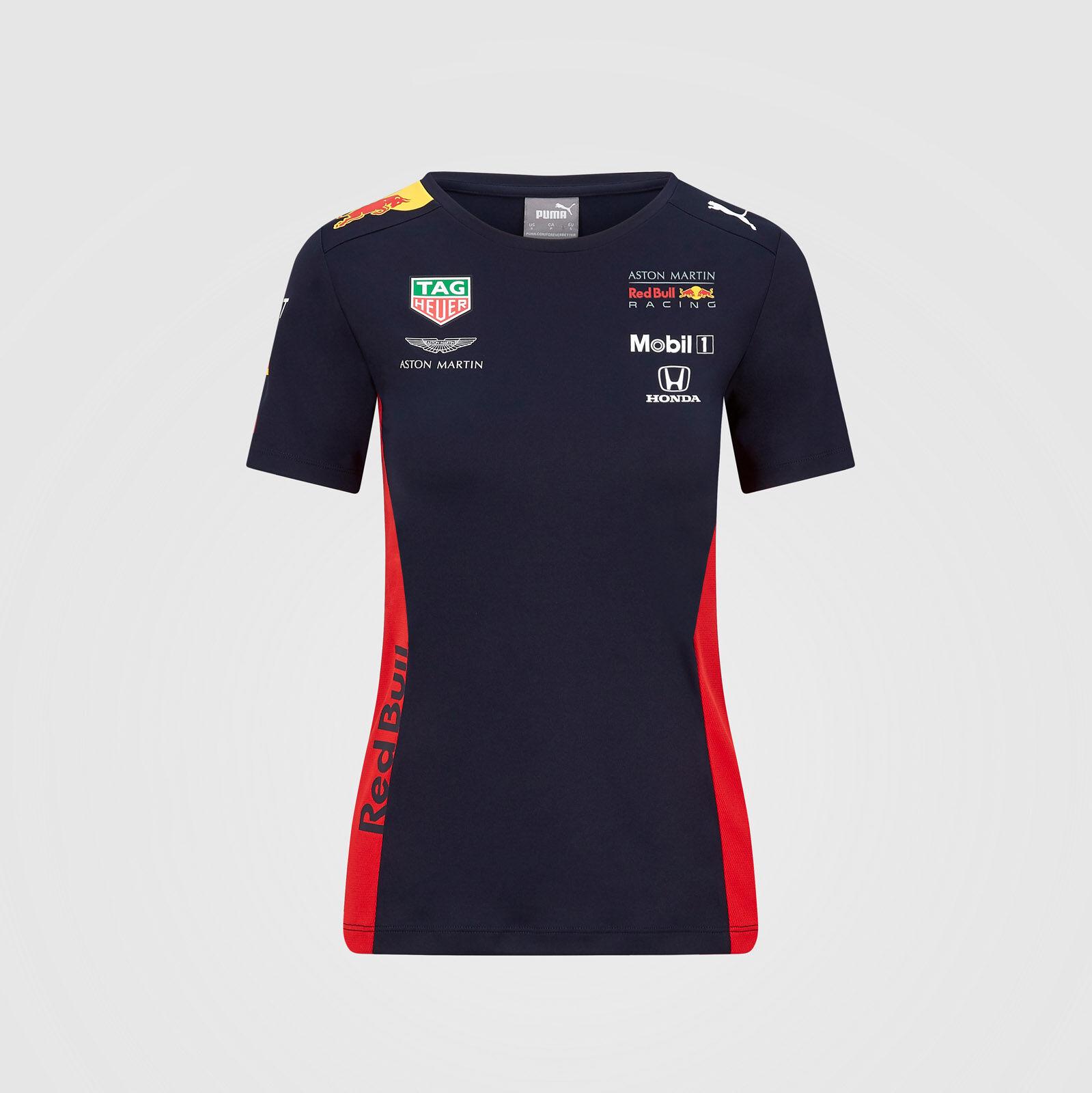 Branded Sports Merchandising B.V Scuderia Ferrari F1 Womens Race T-Shirt Red