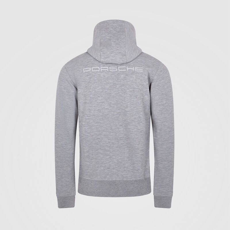 PORSCHE FW MENS HOODED SWEAT  - grey