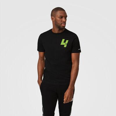 T-Shirt Lando Norris Glitch