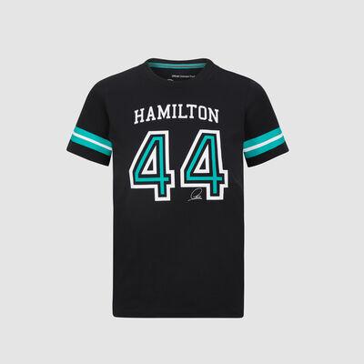 Camiseta infantil Lewis Hamilton n.º 44