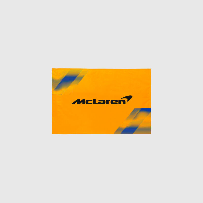 MCLAREN FW FLAG 90X120 - orange