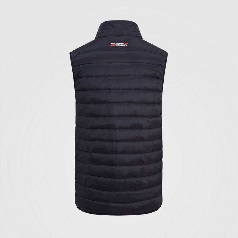 SF FW MENS GILET - black