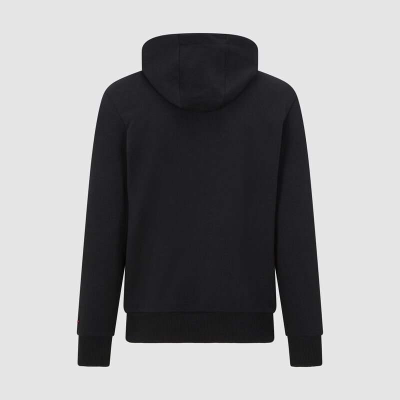 SF PU FW MENS HOODED SWEAT - black