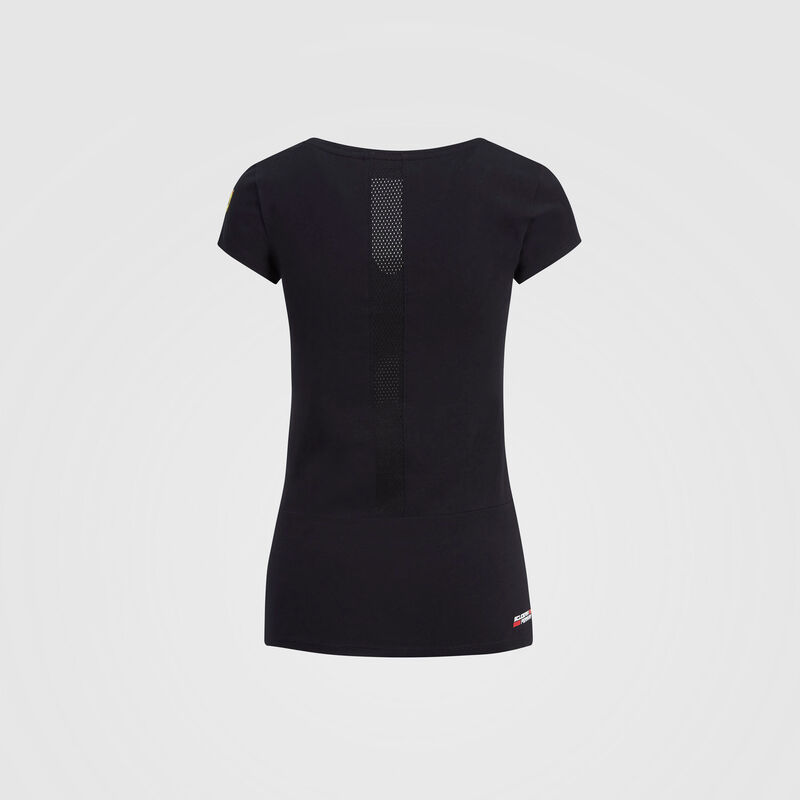 SF FW WOMENS RACE TEE - black