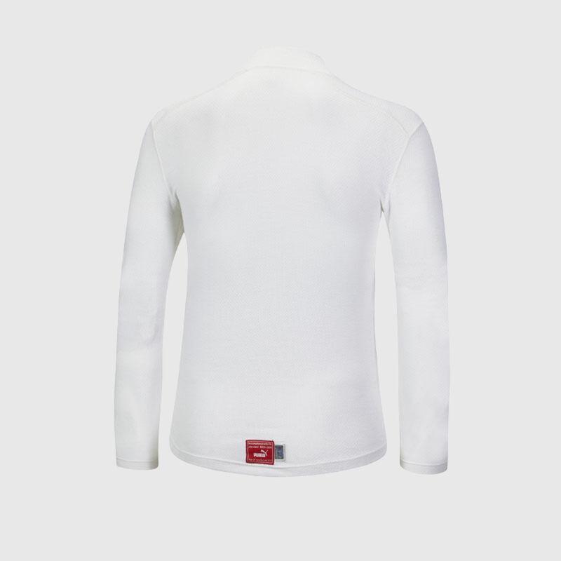 PU RW UNISEX FIA UNDERWEAR TOP - white