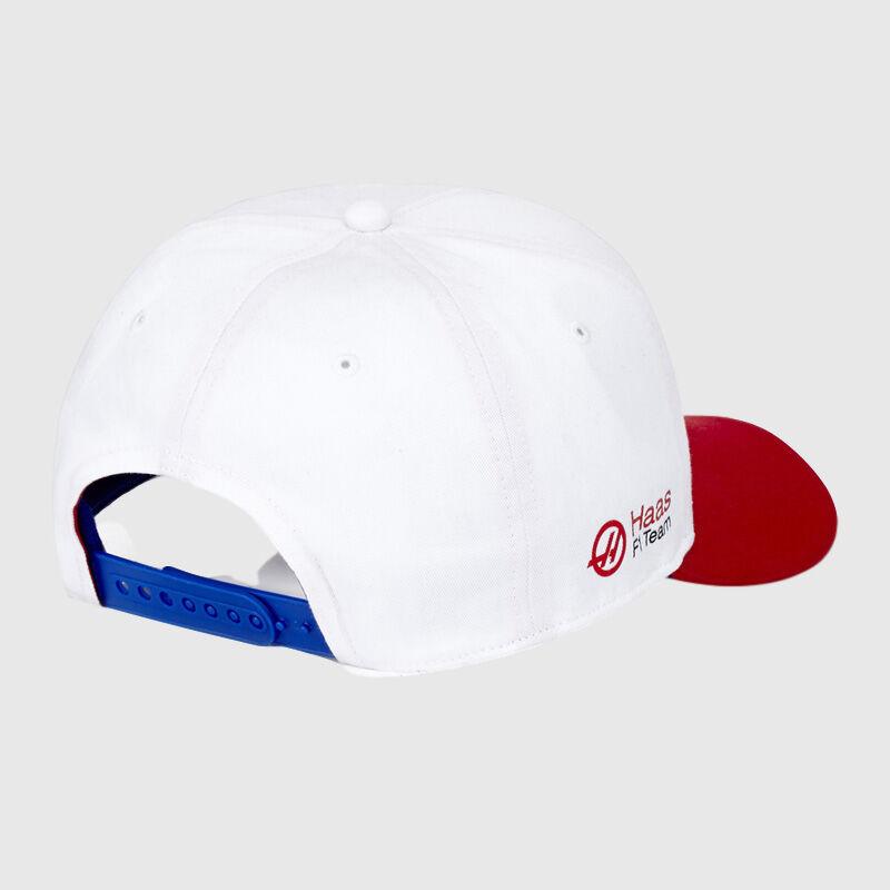 HAAS FW USA CAP - white