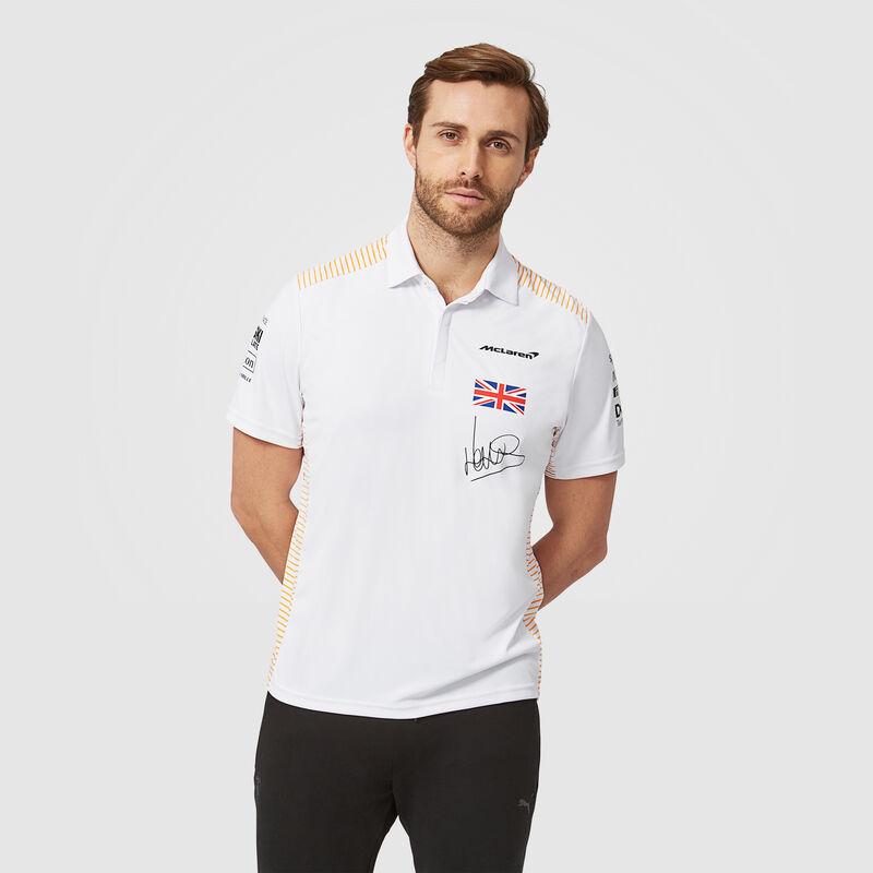 McLaren F1 Mens 2021 Team Lando Norris Polo Shirt