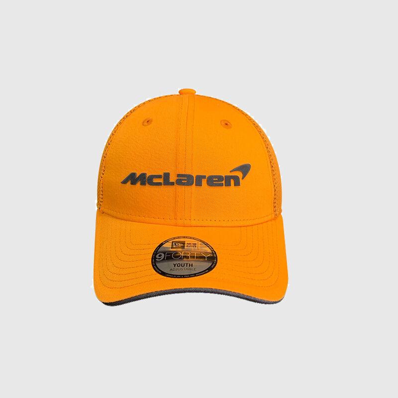 MCLAREN RP BASEBALL TEAM KIDS CAP - orange