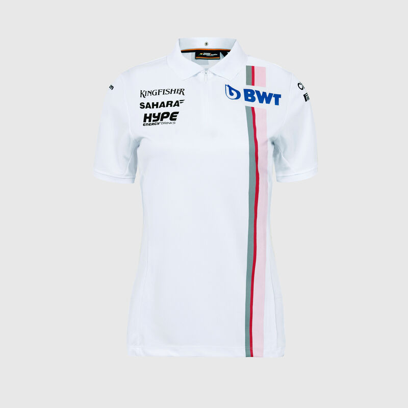 SFI RP WOMENS TEAM POLO - white