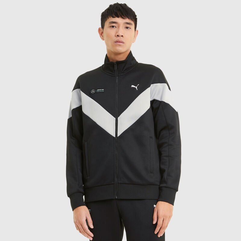 MAPM PU LS MENS MCS TRACK JACKET  - black