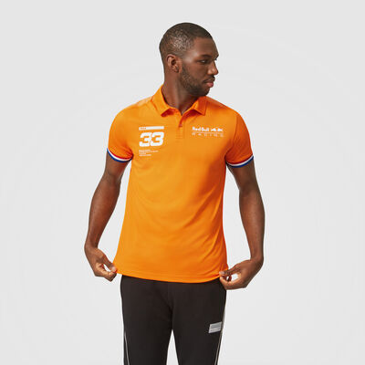 Max Verstappen Orange 33 Polo