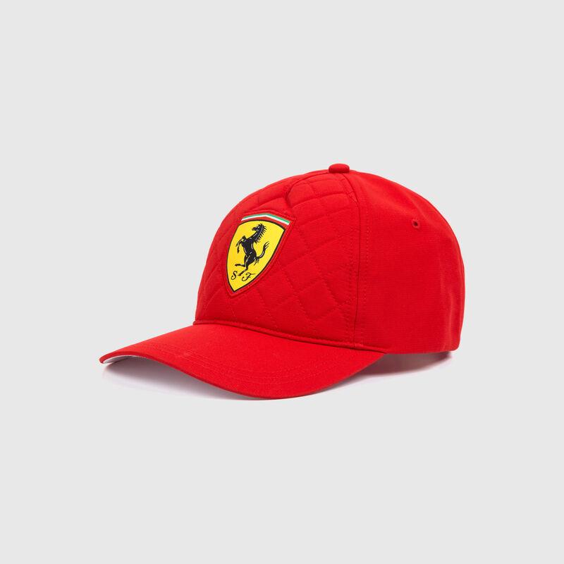 SF FW QUILT CAP - red