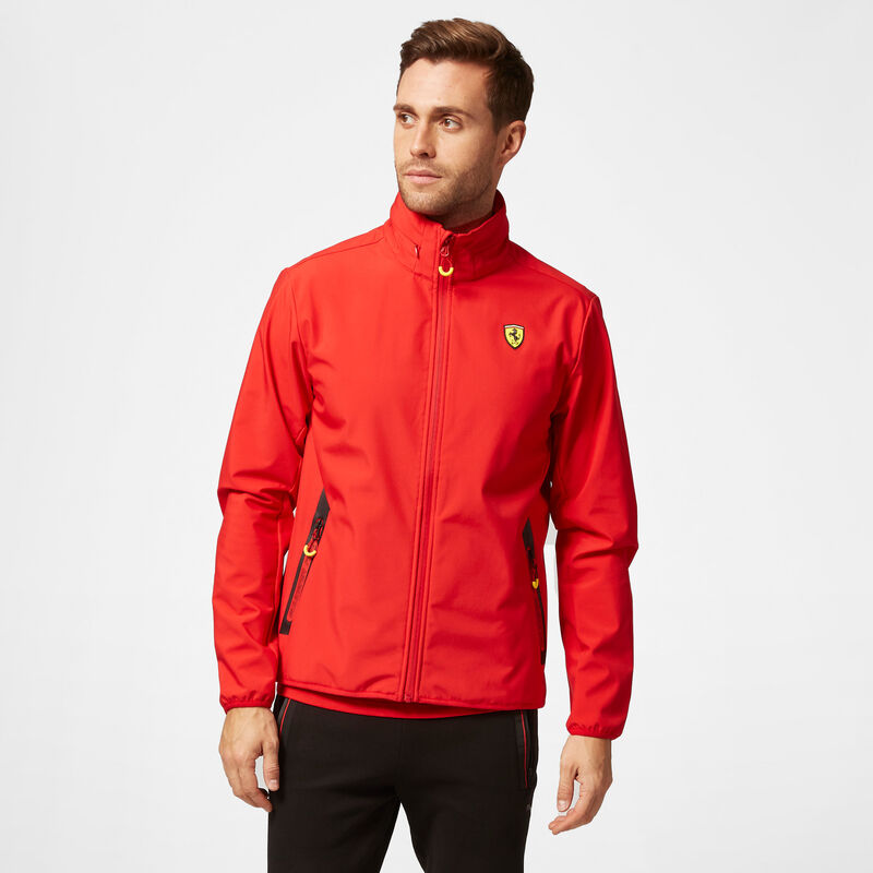 SF FW MENS SOFTSHELL JACKET - red