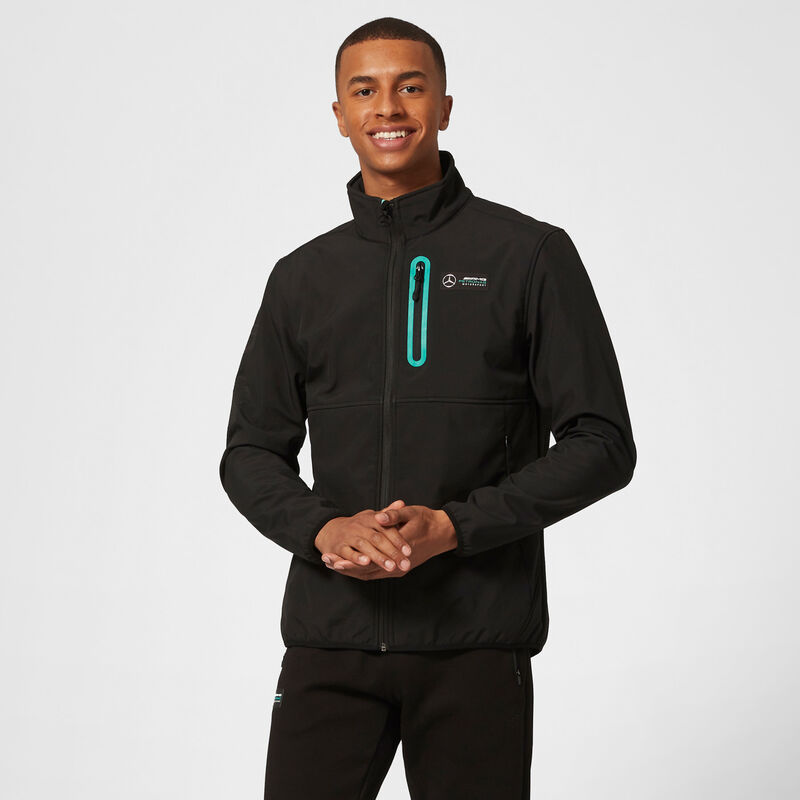 MAPM FW MENS SOFTSHELL JACKET - black