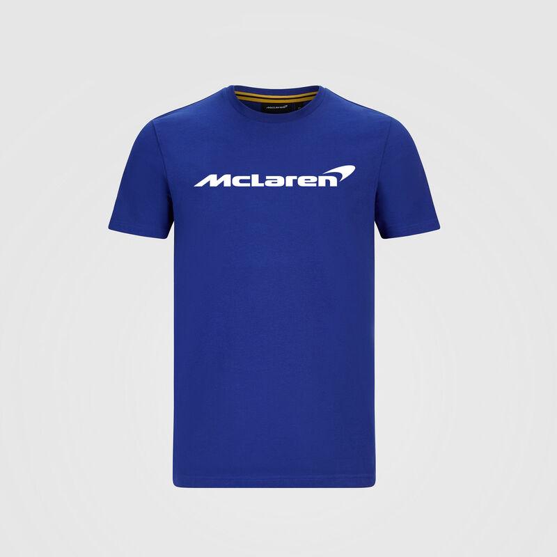 MCLAREN FW MENS ESSENTIALS TEE - blue