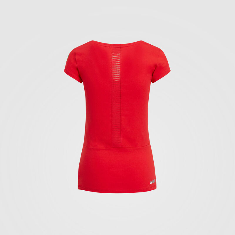 SF FW WOMENS RACE TEE - red