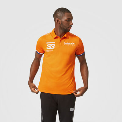 Max Verstappen Orange Polo
