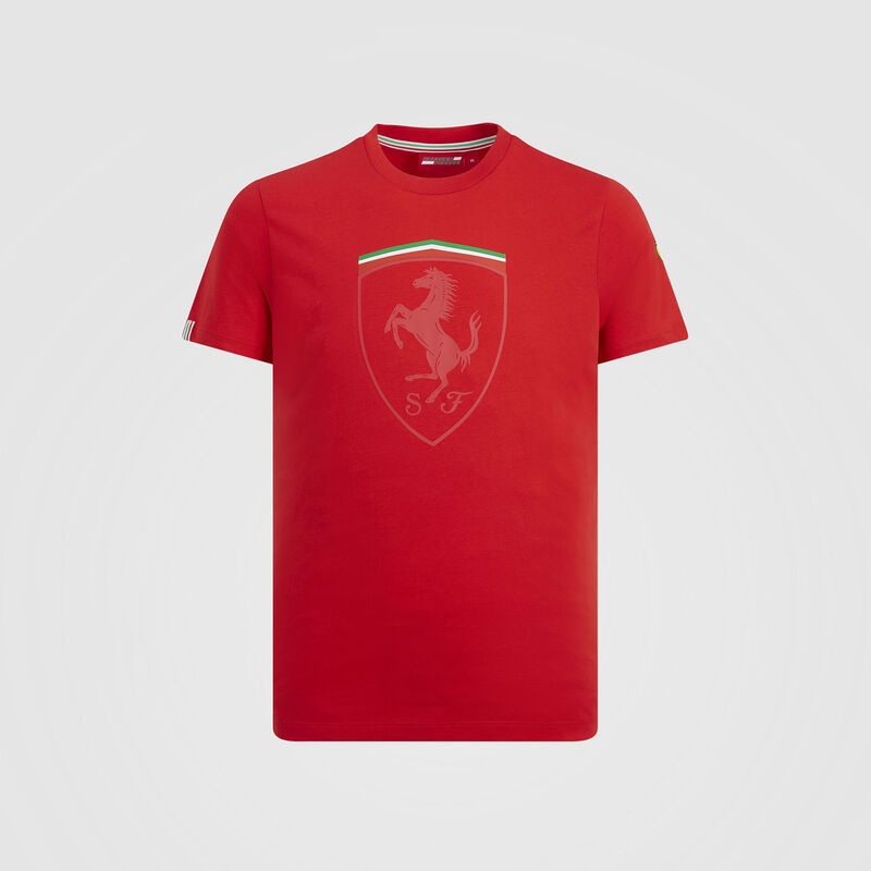 SF FW MENS MONO SHIELD GRAPHIC TEE - red
