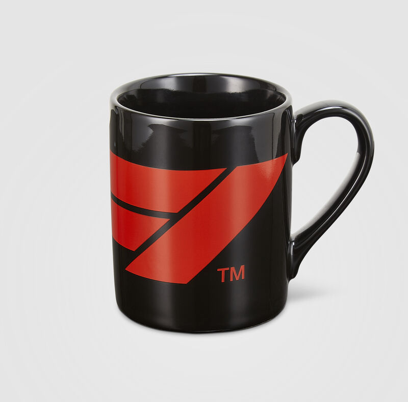 F1 FW LARGE LOGO MUG - black