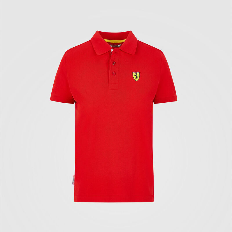 SF FW KIDS CLASSIC POLO - red