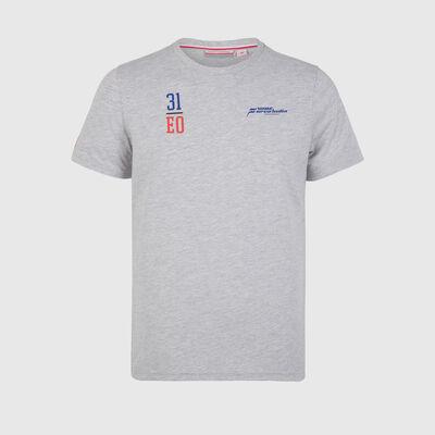 T-shirt de fan du pilote Esteban Ocon