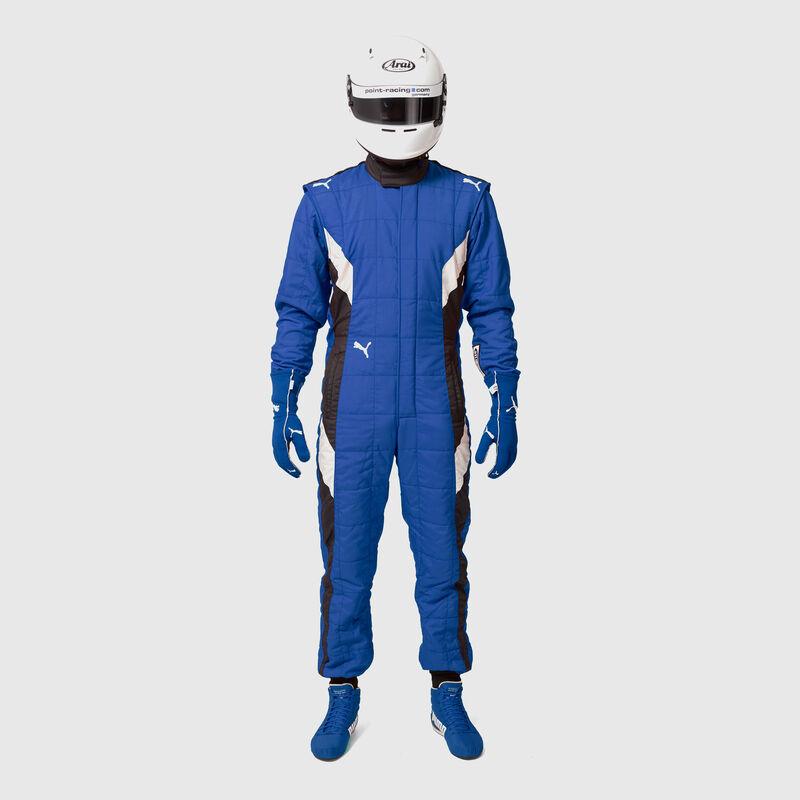 PU RW UNISEX FIA PODIO RACESUIT - blue