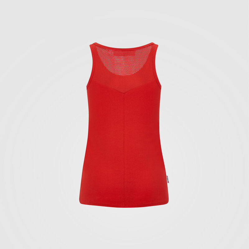 SF FW WOMENS VEST - red