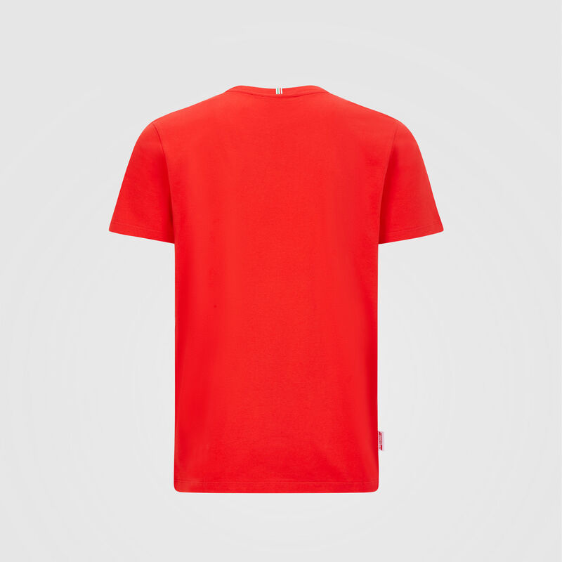 SF FW MENS ITALIAN FLAG TEE - red