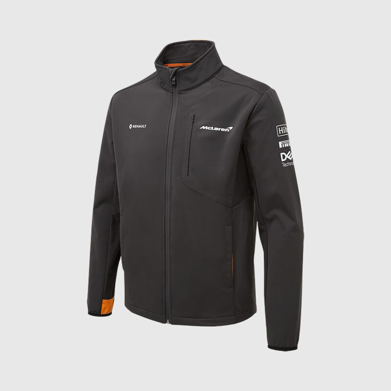 MCLAREN RP SOFTSHELL JACKET - grey