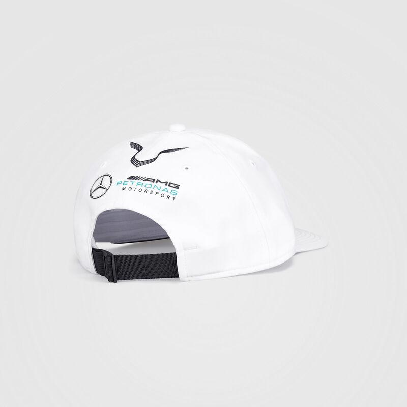 MAPM RP LEWIS DRIVER FLATBRIM CAP  - white