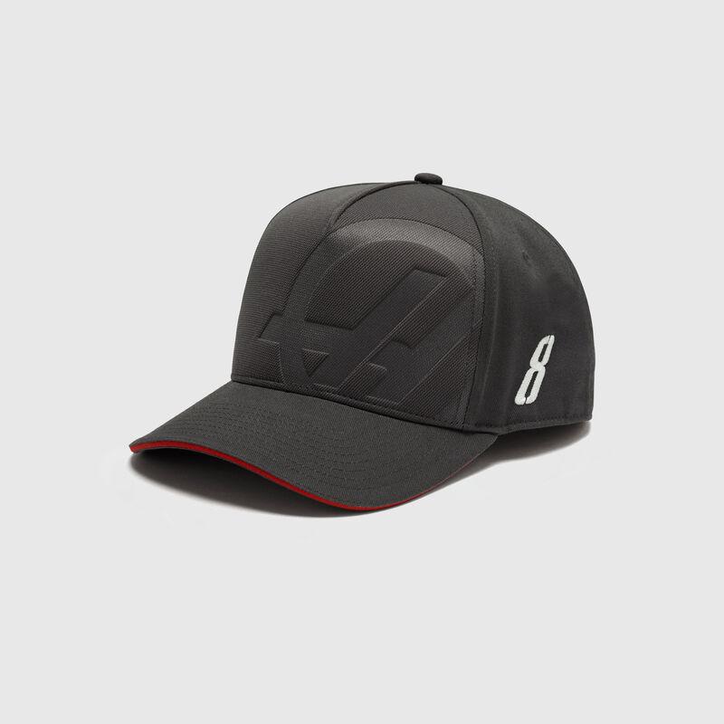 HAAS F1 FW GR DRIVER CAP - grey