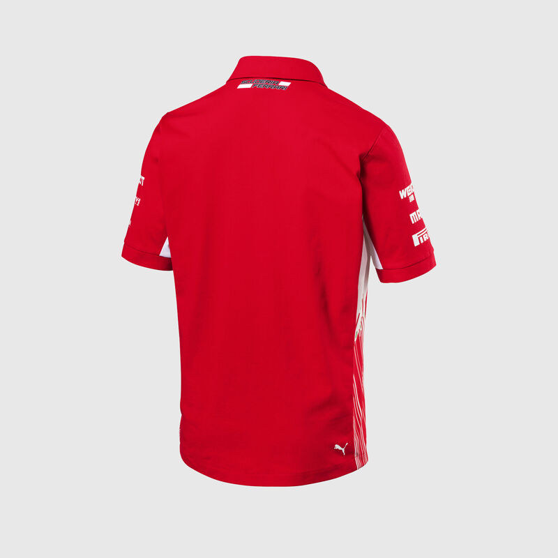 SF RP MENS TEAM POLO - red