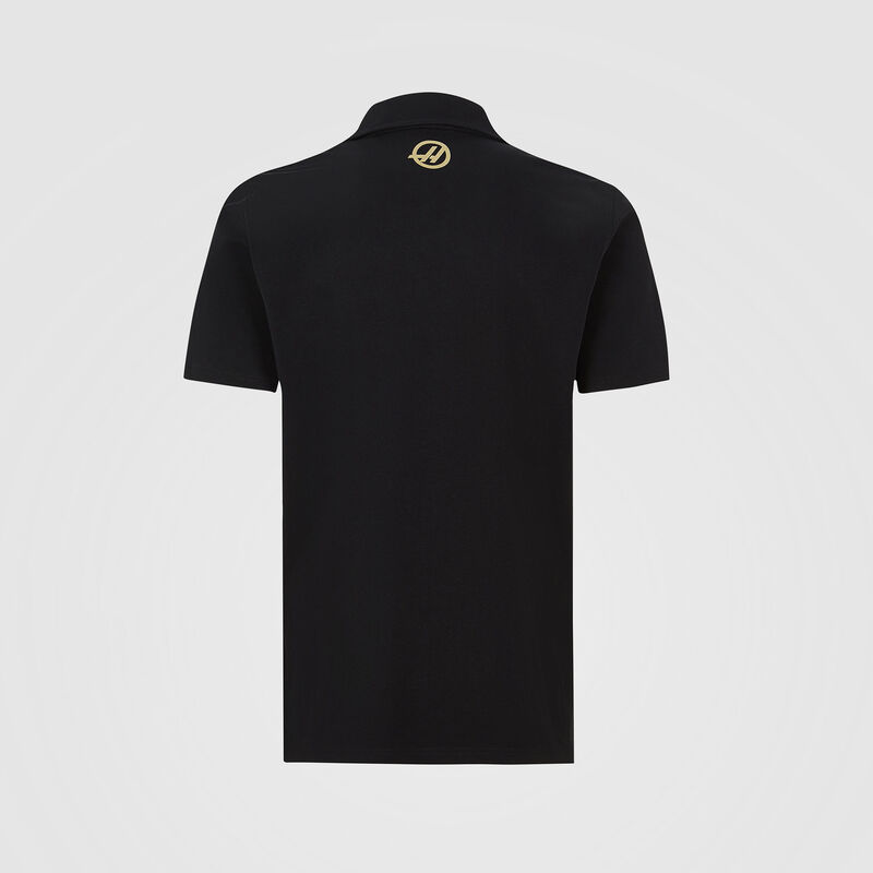 REH F1 FW MENS LOGO POLO - black