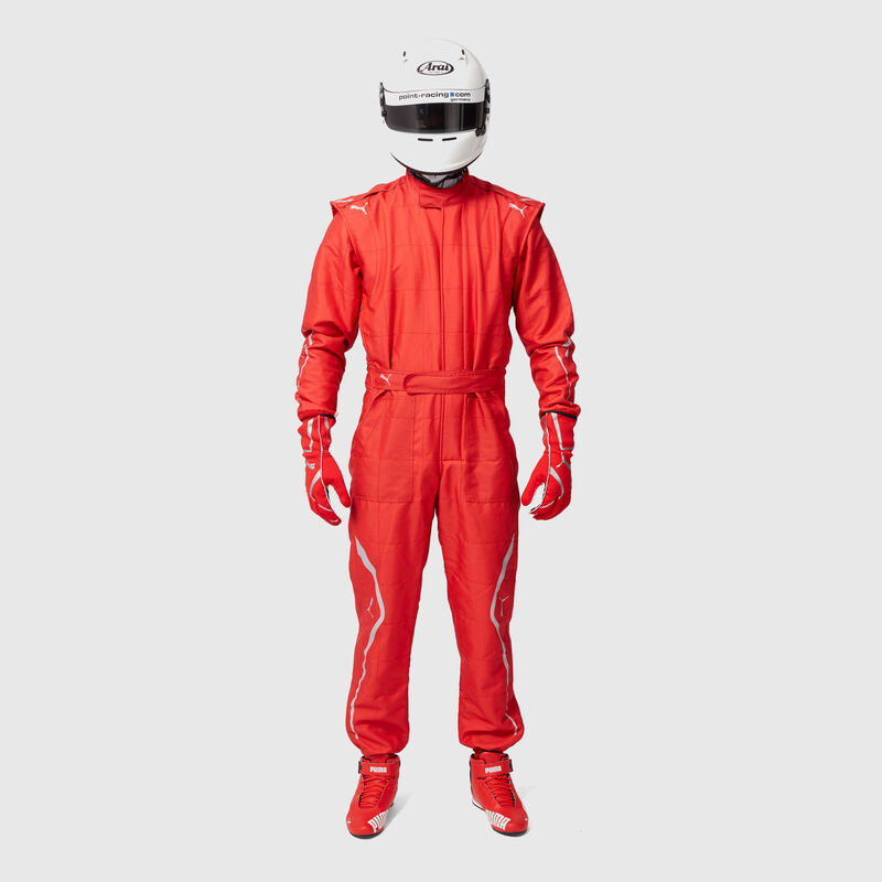 PU RW UNISEX KART CAT II SUIT - red